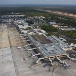 Aeropuerto Internacional de Cancún.